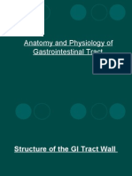 Anatomy and Physiology of Gastrointestinal Tract