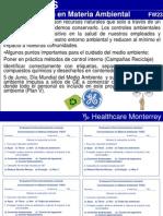 23. Concientización en Materia Ambiental