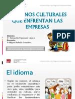 Entornos Culturales Que Enfrentan Las Empresas