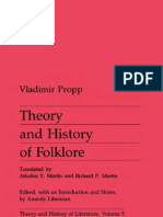 Vladimir Propp-Theory & History of Folklore (Theory and History of Literature)-University of Minnesota Press (1984)