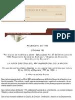 Acuerdo 12 de 1995