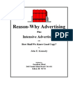 REASONS - Why Advertising