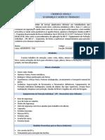 ORDEM DE SERVIÇO ARMADOR