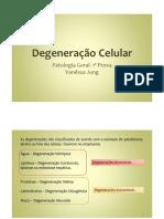Degeneração Celular
