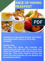 Importance Of Having Breakfast.pdf