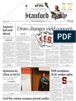 04/14/09 - The Stanford Daily [PDF]