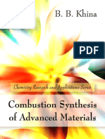 Combustion_Synthesisof Advanced Materials