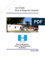 Peace Corps Guatemala Final Audit Report IG0904A