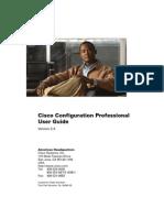 Cisco Configuration Professional User Guide