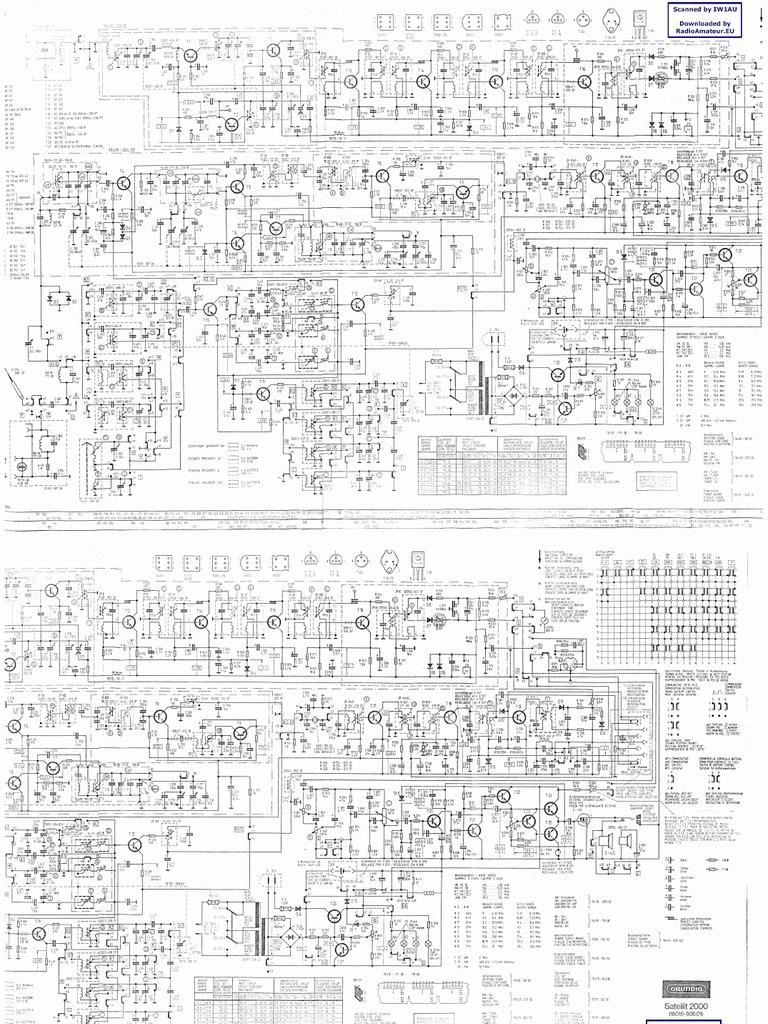 Grundig Satellit 2000 Schematic Diagram
