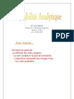 Cmpta analytique séance 1