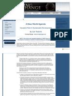 Carl Teichrib - A New World Agenda