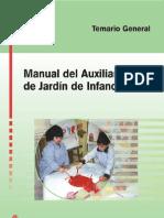 Manual del auxiliar de jardín de infancia