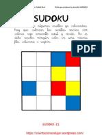 Sudokus Coloreando 4x4 Fichas 21 40