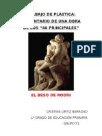 Obra Arte El Beso de Rodc3adn1