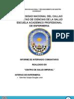 Informe Internado Comunitario