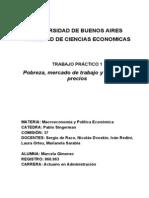 TRABAJO PRACTICO 1 - Nota Pobreza, Mercado de Trabajo y Niveles de Precios