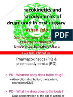 20110606-Fkg-Pharmacokinetics and Pharmacodynamics of Drugs Used in Oral Surgery AKHIR