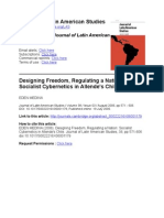 Medina_Designing Freedom, Regulating a Nation-Socialist Cybernetics in Allende's Chile