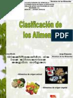 Exposición - Clasificación de los Alimentos - Ana Bicelis - Jorge Requena