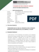 proyecto de innovación iesc45-2013