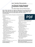 Ats Ers Asthma Control and Exacerbations