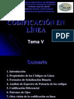 Tema 5 Codificacion de Datos