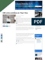 18-05-2013 CME valida candidatura de Pepe Elías