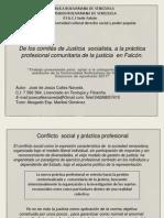 De los comités de Justicia  socialista, a