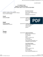 0 Docket Brumfiel v. u.s. Bank, 1.12-Cv-02716-Wjm-meh