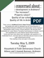 ArdWood Civic Voter Forum