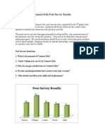 connect post survey results