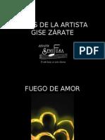 OBRAS DE LA ARTISTA GISE ZÁRATE