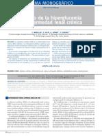 Manejo de la hiperglicemia en la  Enfermedad renal cronica