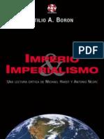 Imperio e Imperialismo. Atilio Boron