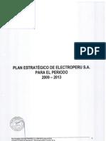 Plan estratégico de Electro Perú