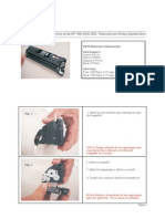 Manual de Desarme Del Cartucho Tonner de Las HP 1500 2500 2550
