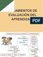 Lineamientos Para La Evaluacion de Los Aprendizajes