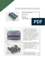 Manual Para Desarmar El Drum de Imagen HP 1500 2500 2550