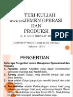 Materi Manajemen Operasional Modul 2 PDF
