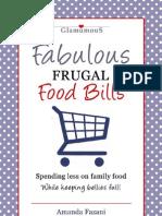 Fabulous Frugal Food Bills