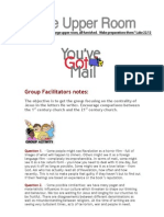 Group Facilitators Notes