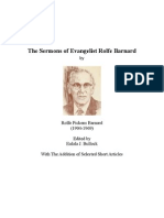 Sermons of Rolfe Barnard The