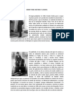 Henry Ford Historia y Logros
