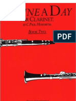 A Tune a Day for Clarinet Book 02