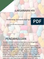 Penatalaksanaan HIV