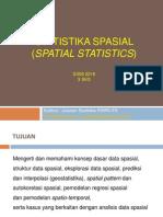 Modul Ke-1 Pengantar Statistika Spasial