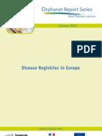 004. Listado de Enfermedades Raras en Europa