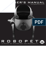 Robopet Manual