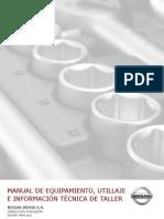 MANUAL DE EQUIPAMIENTO, UTILLAJE E INFORMACIÓN TÉCNICA DE TALLER.pdf